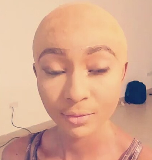 belinda effah bald