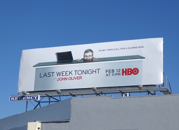 Last Week Tonight John Oliver season 4 billboard