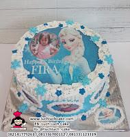 Kue Tart Ulang Tahun Edible Image Frozen