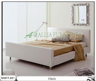 Tempat tidur minimalis modern type oasis