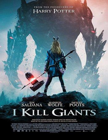 I Kill Giants (2018) English 300MB