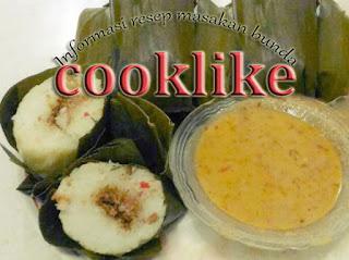 Resep Cooklike Cara Membuat Lontong Lezat Isi Oncom