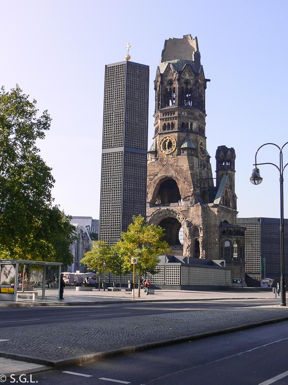 Gedachtniskirche en Berlin. Berlin en 4 dias