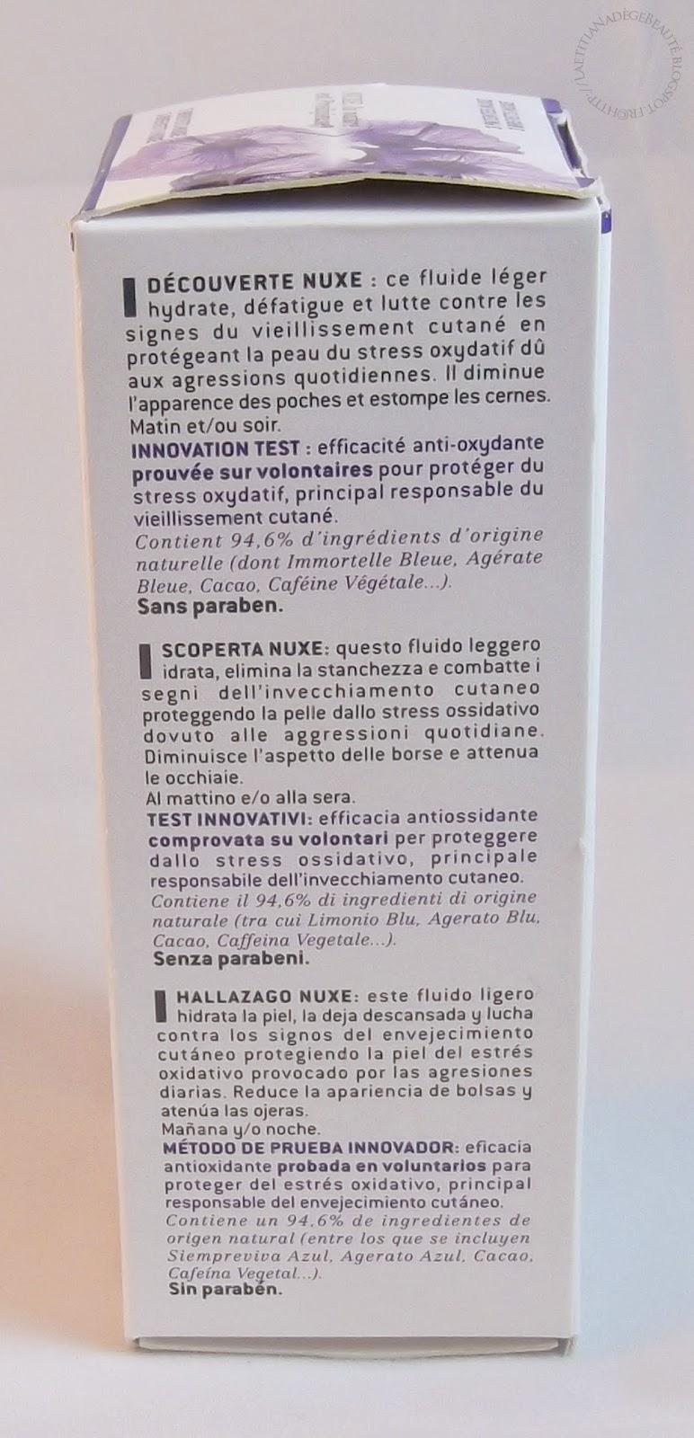 NUXE PARIS  Contour des Yeux Prodigieux Anti-Age Anti-Poches