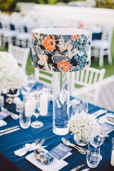 Meant2be events orange you surprised to see an orange - Orange and blue decor ...