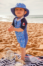The Baby Swimming Shop sun suit