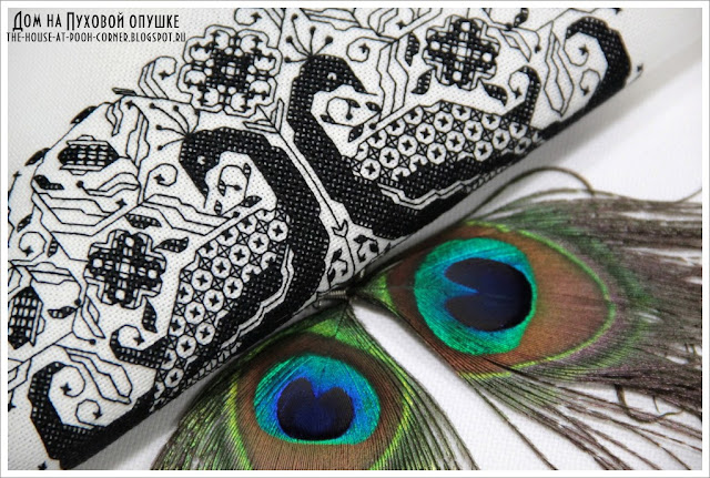 Блэкворк Индийский орнамент Вышиваю крестиком
