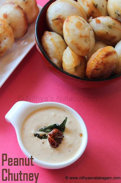 Andhra style Groundnut Chutney