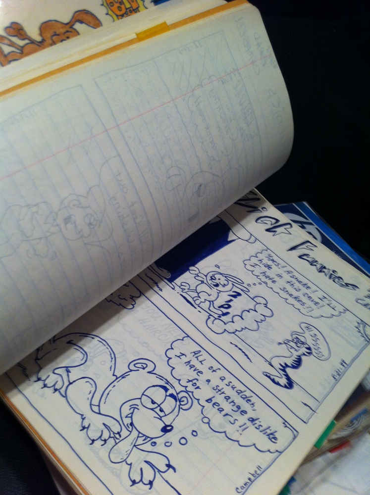 Cool Notebook Paper Drawings