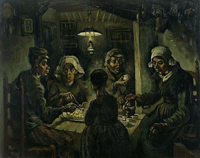 Os Comedores de Batata, 1885
