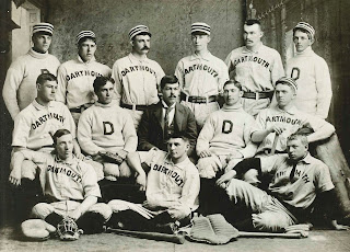 A photograph of a baseball team from sometime in the 1890s.