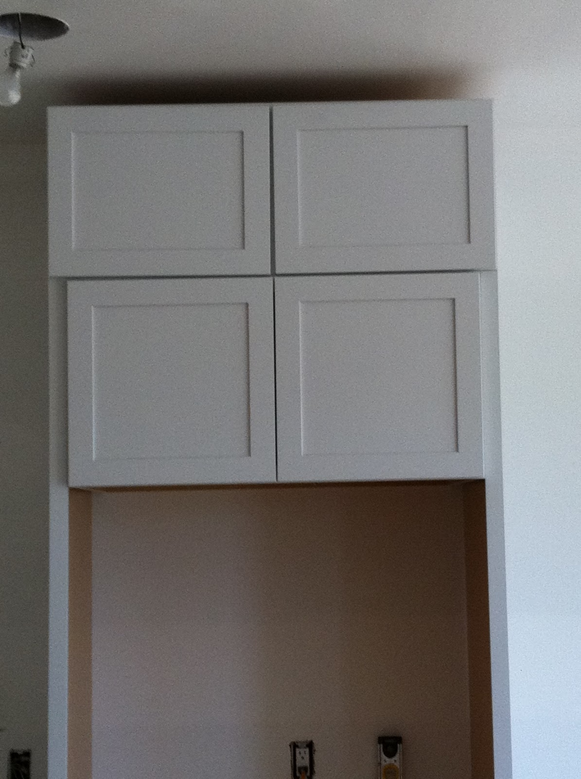 M & J Altomare: Kraftmaid Sleek Cabinets Starting - Built In Cabinet For Small Kitchen