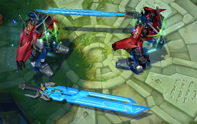 Mod Skin Garen Optimus Prime
