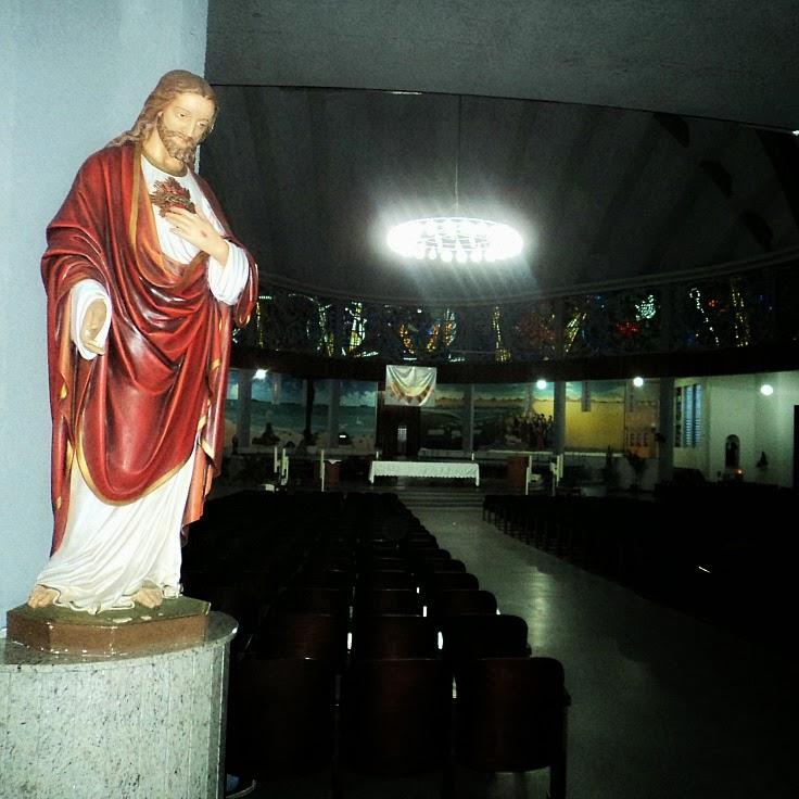 Interior da Catedral Diocesana de Joinville