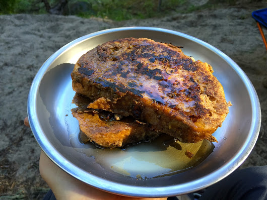 Cinnamon French Toast for the Trail