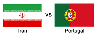 iran vs portugal world cup 2018