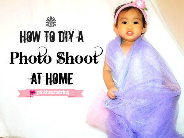 How to DIY a Photo Shoot at Home for Your Little One