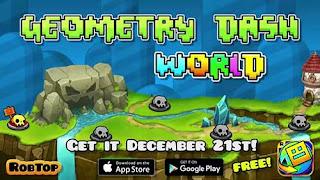 Download Game Geometry Dash World 1.01 MOD Apk