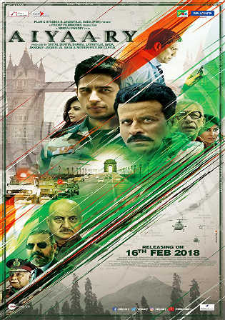 Aiyaary 2018 Pre DVDRip 700MB Full Hindi Movie Download x264