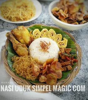 Resep Nasi Uduk Simple Ricecooker Ala Rumahan By @mamaquink_88