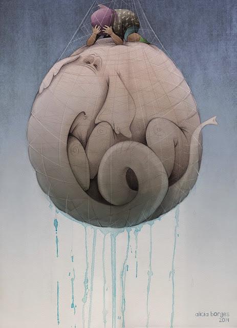"""""""Yo mimo mi mar"""" por Alicia Borges"""