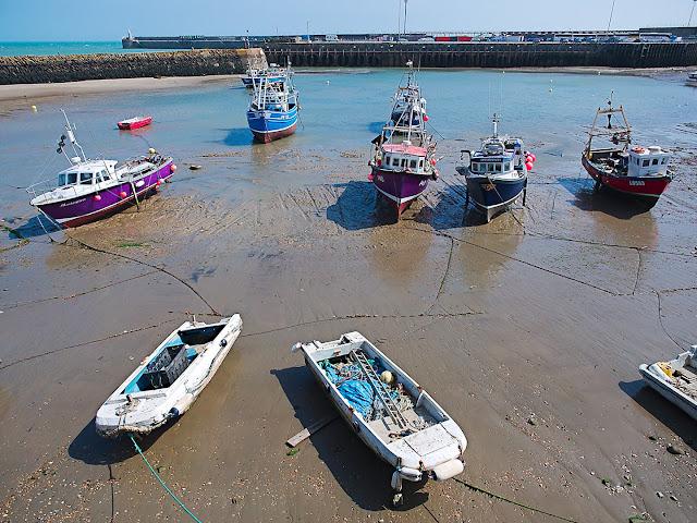 Hafen von Folkestone
