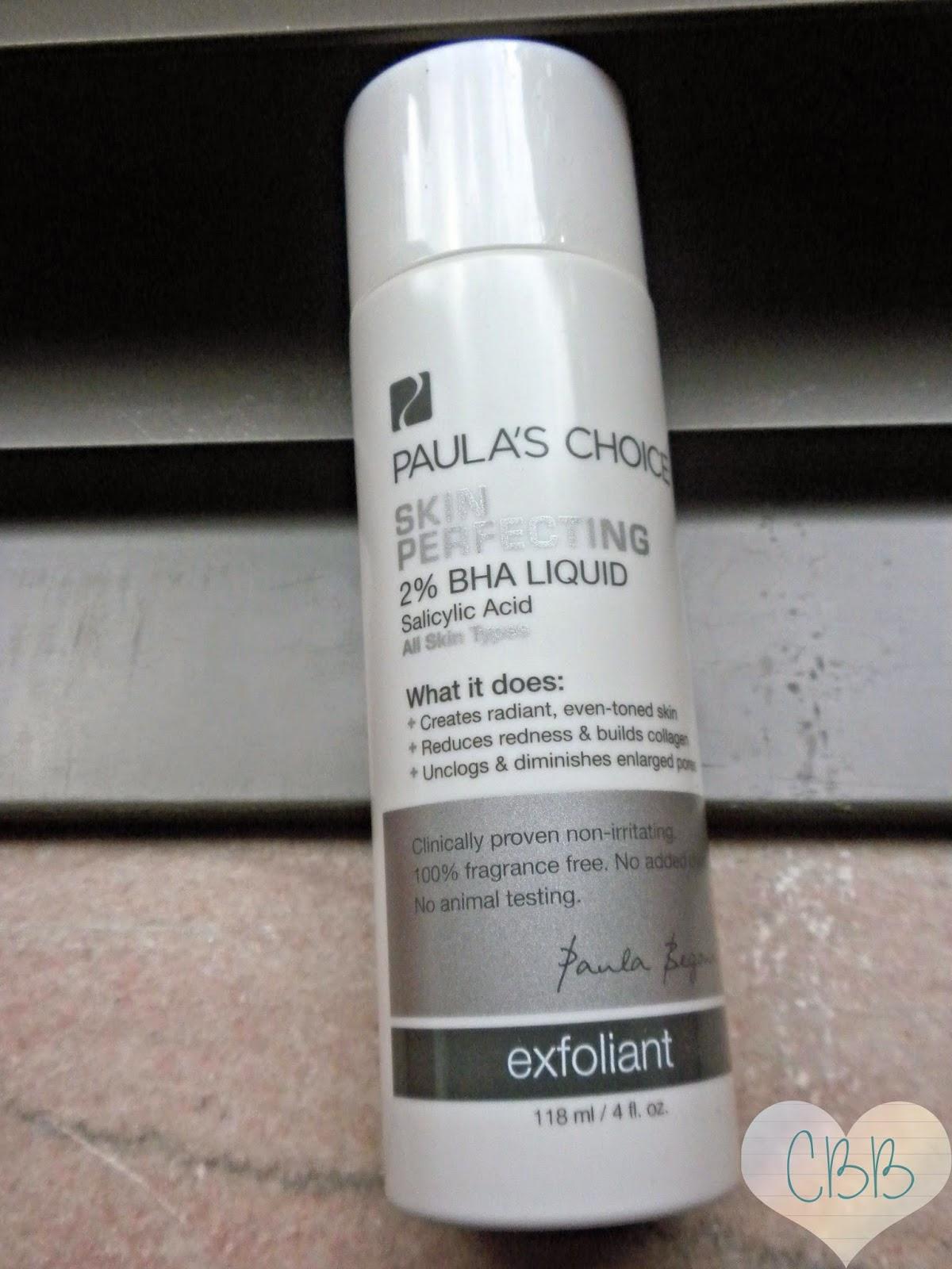 PAULA'S CHOICE 2% BHA Liquid Exfoliant ($26 for 4oz)