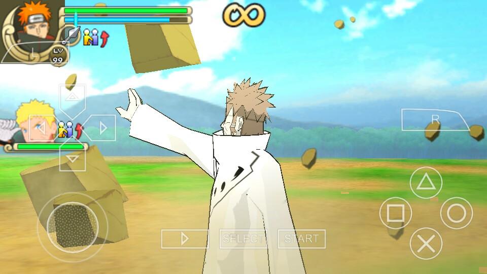download naruto ultimate ninja impact mod psp
