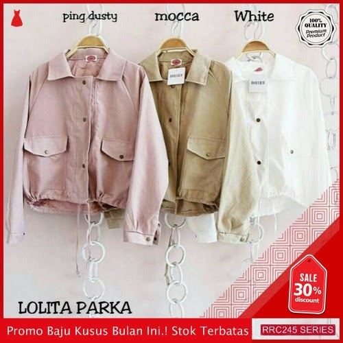 RRC245L43 Lolita Parka Wanita Terbaru BMGShop