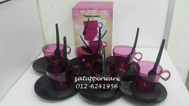 Tupperware Moment Cups Purple