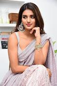 Nidhi Agarwal at Ismart Successmeet-thumbnail-11