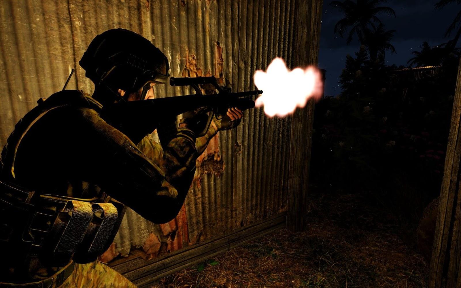 弱者の日記^^Arma 3 へオーストラリア軍を実装する Project Uncut MOD