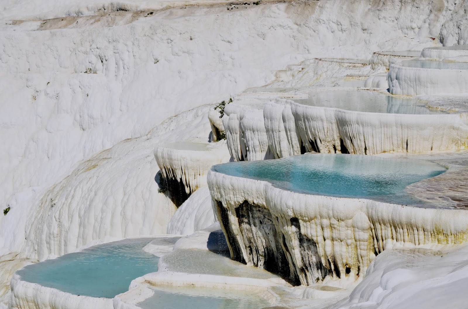 Pamukkale thermal hot pools