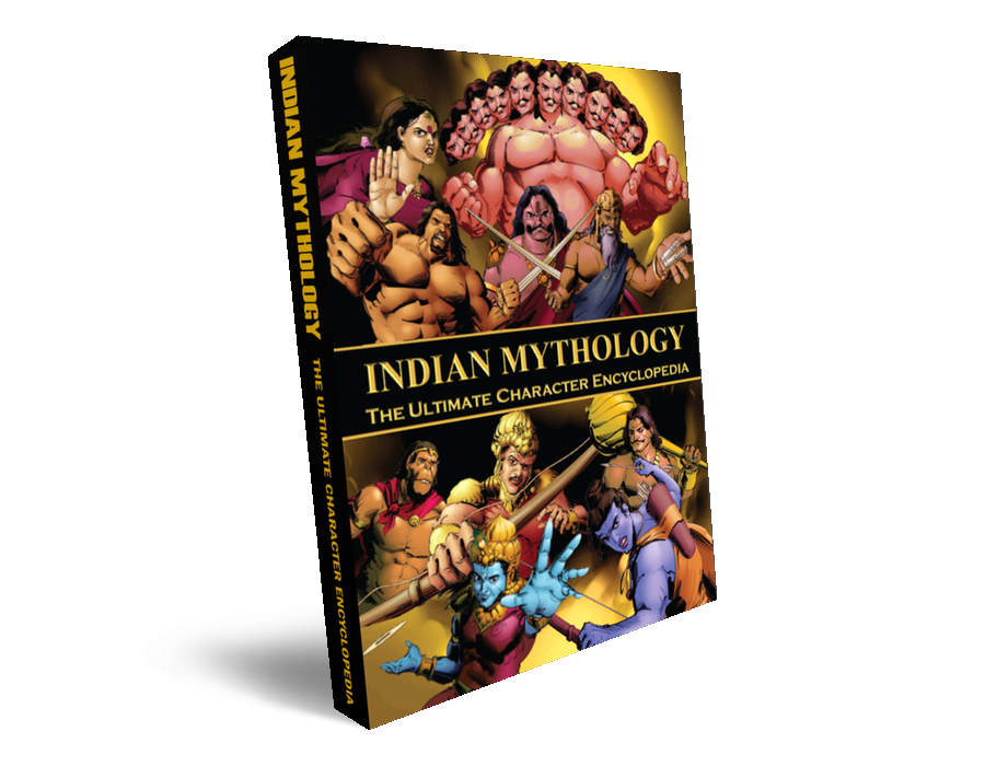 illustrated indian mythology character encyclopedia