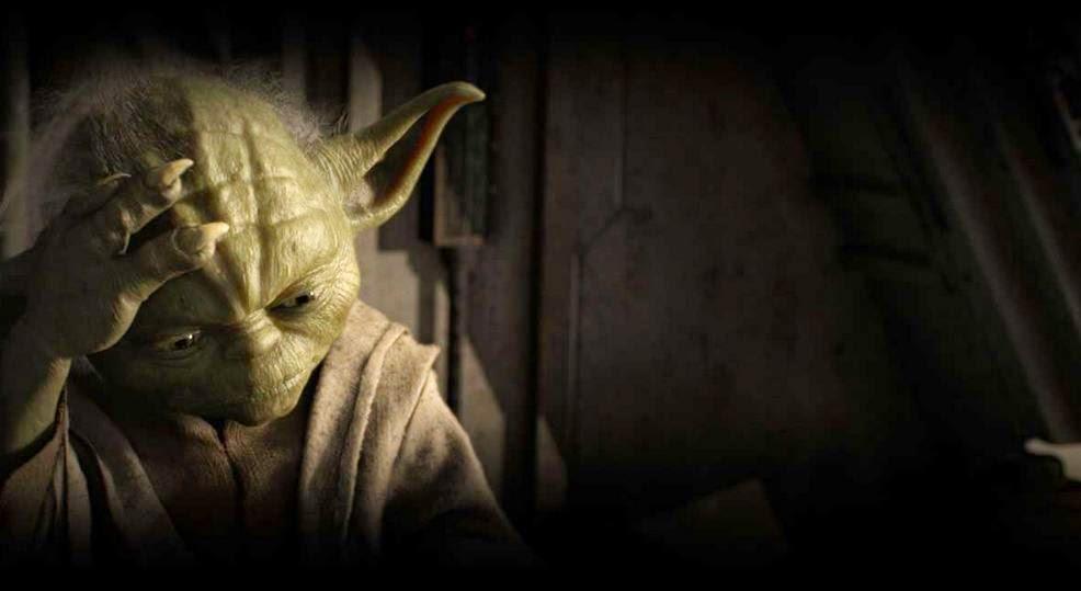 Yoda Seven Samurai reference