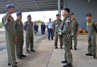 TNI AU Gelar Latihan Bersama dengan Royal Thai Air Force