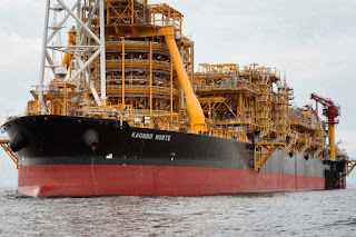 On an oil ship off Angola, life is work and privacy is a luxury