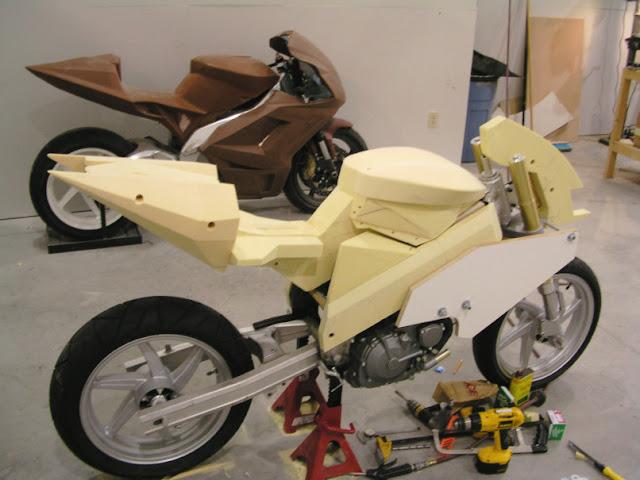 Fischer MRX Motorcycle Mockup