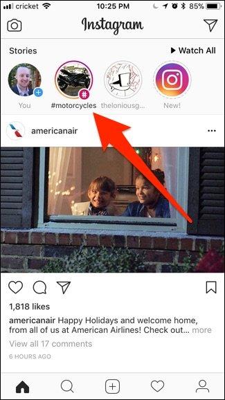 Cara Mengikuti / Follow Hastags di Instagram + Gambar