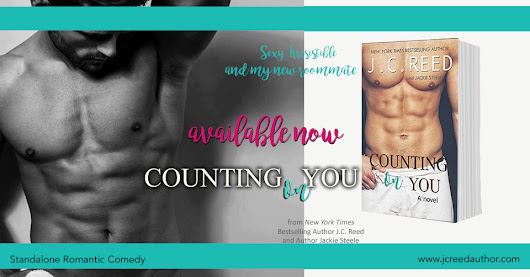 Book Spotlight & Giveaway: Counting On You by J.C. Reed and Jackie Steele