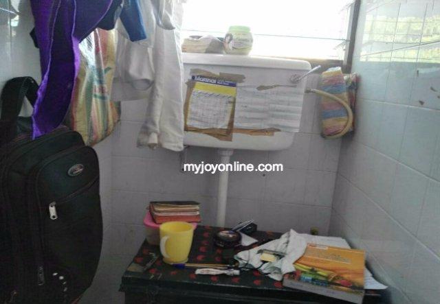 Zebilla SHS students sleep in 'toilet' dormitories