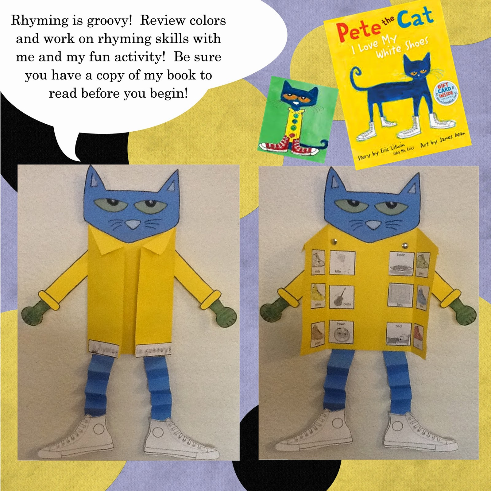 Christina S Kinder Blossoms Pete The Cat Template For