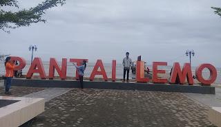 Pantai Lemo Burau Luwu Timur