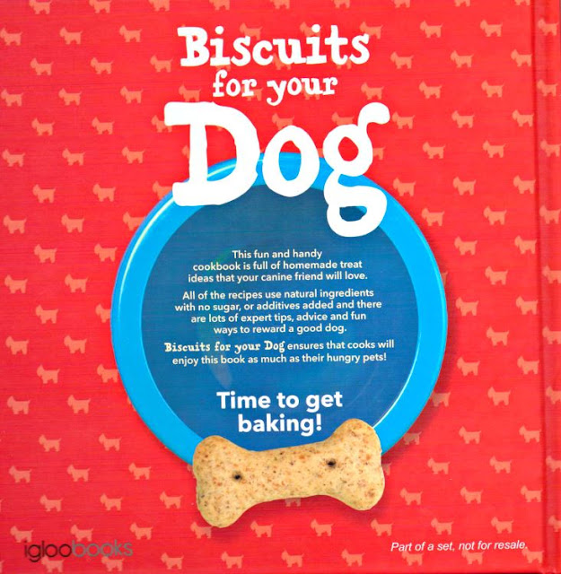 Biscuits For Your Dog Book - Back Cover