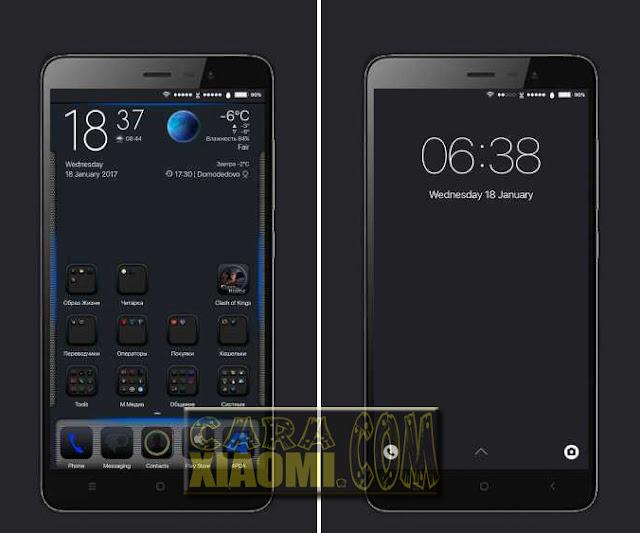 Download MIUI Theme iOS Black/dark Update Fix Link For Xiaomi
