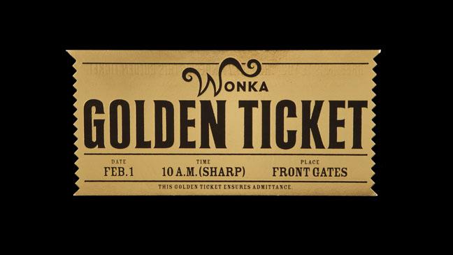 Golden Ticket Template. golden ticket mut 25 golden tickets news ...