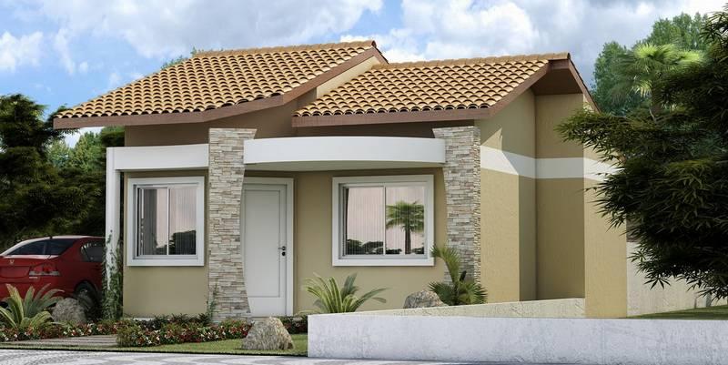 Fachadas Para Casas Pequenas E Modernas 40 Fotos Toda Atual - Casas-super-pequeas