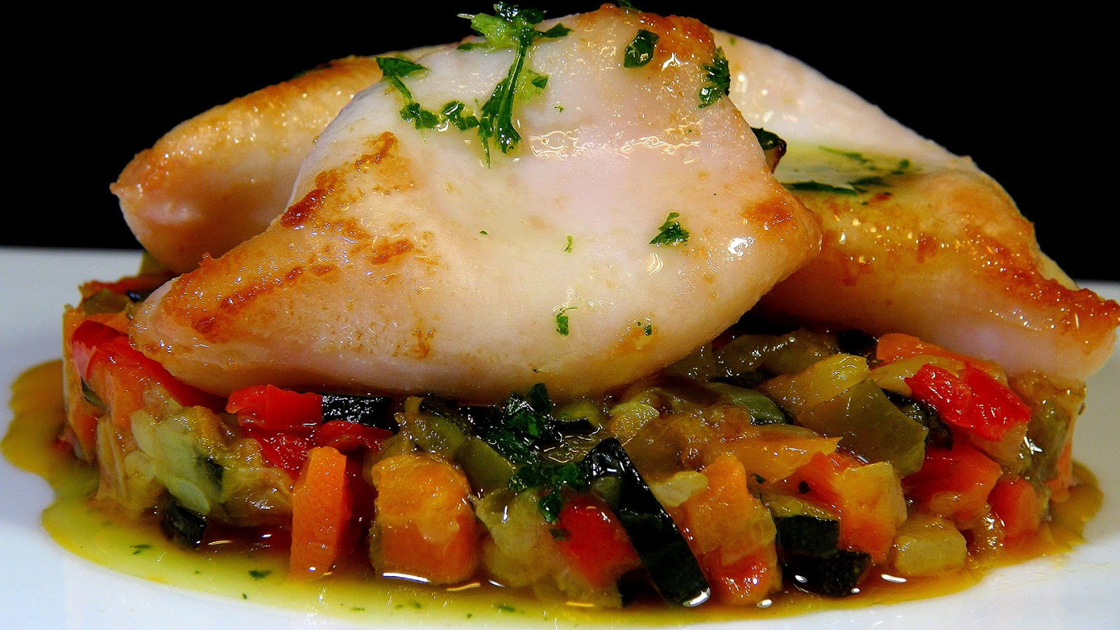 Cocinar para los amigos txipirones de anzuelo con verduritas for Cocinar 7 mares
