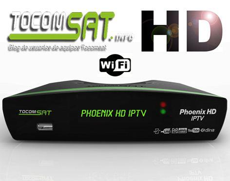 TOCOMSAT PHOENIX IPTV NOVA ATUALIZAÇÃO V02.050 - 12/11/2019
