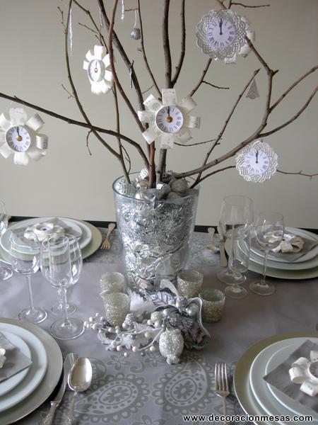 Decoracion de mesas diciembre 2011